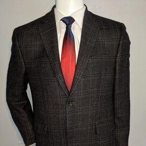 Polo Ralph Lauren Brown Plaid Sport Coat